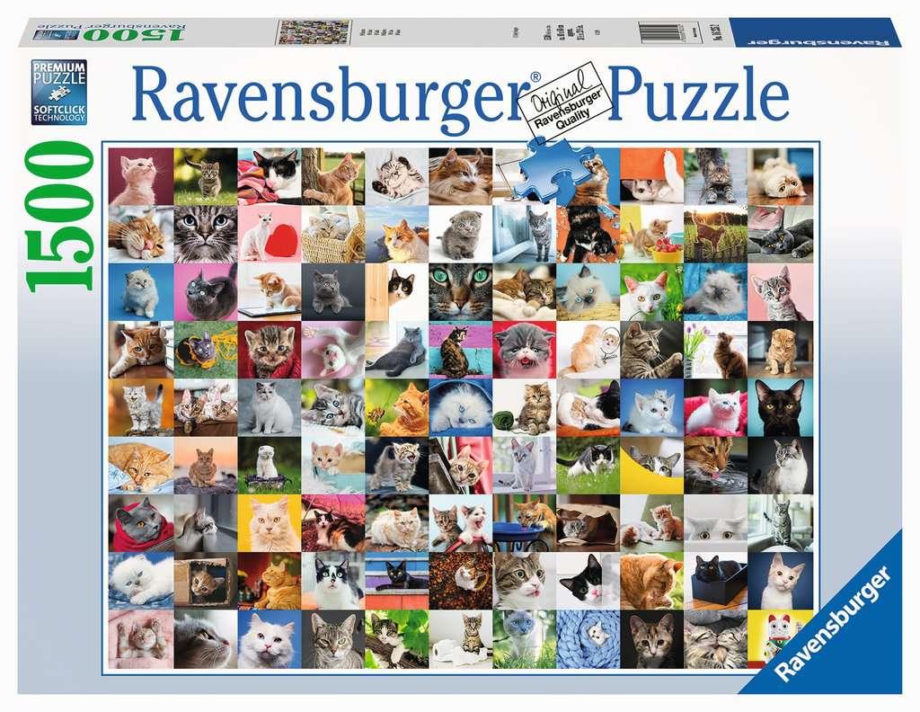 RAVENSBURGER  99 GATTI 16235