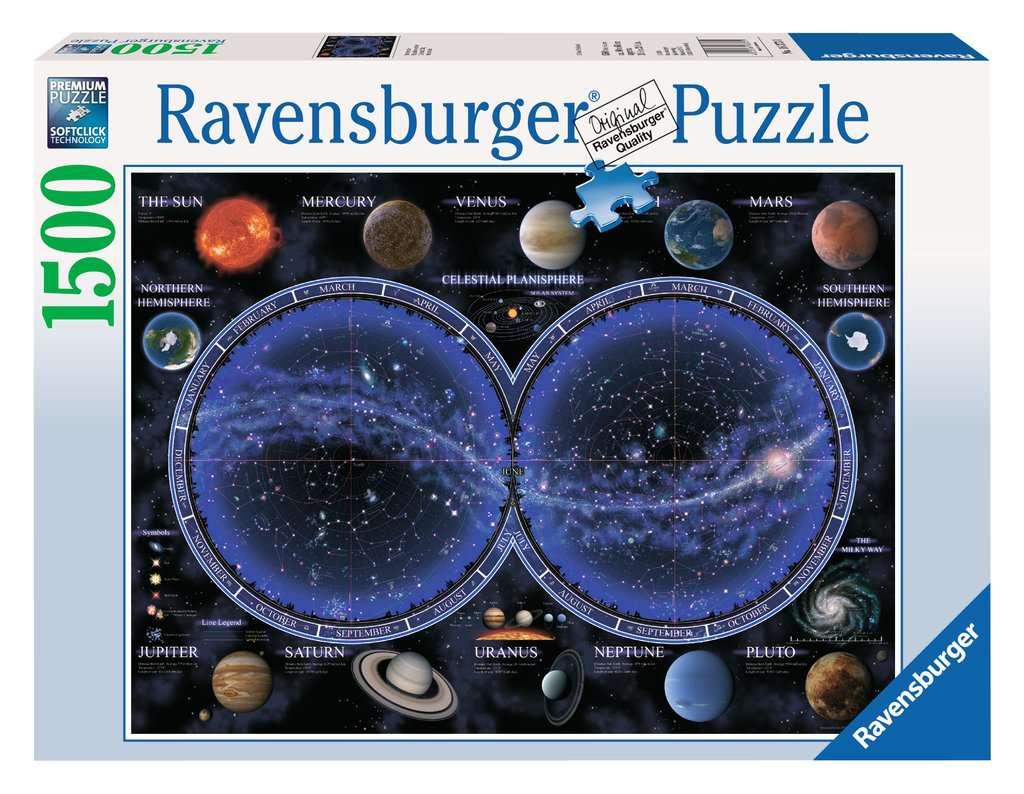 RAVENSBURGER  PLANISFERO CELESTE 16373