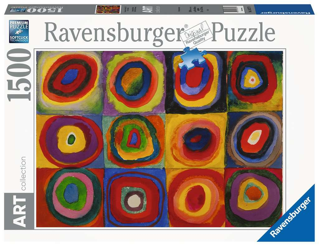 RAVENSBURGER  KANDINSKY: STUDIO SUL COLORE 16377