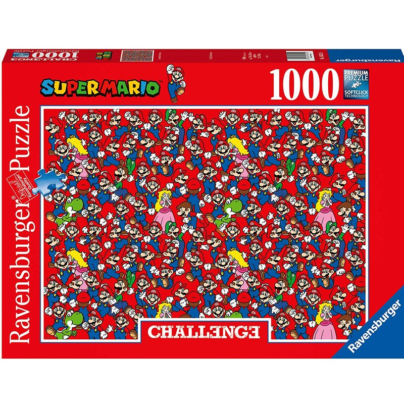 RAVENSBURGER  CHALLENGE SUPER MARIO 16525