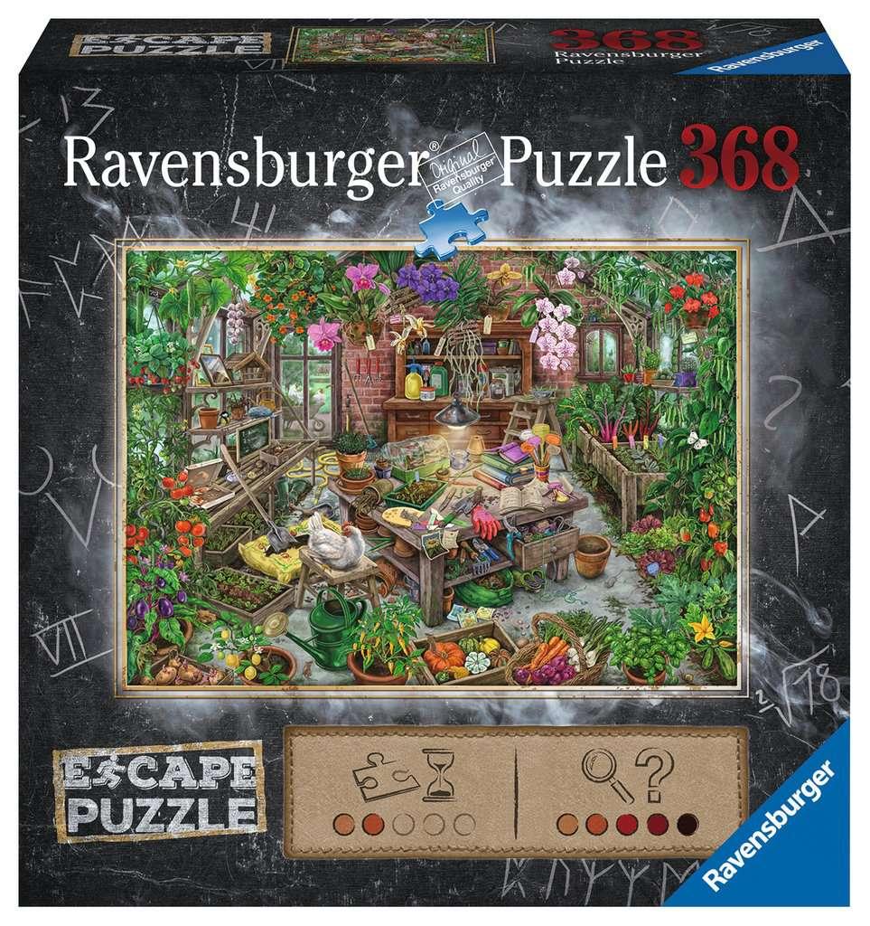RAVENSBURGER  ESCAPE THE PUZZLE: THE GREEN HOUSE (368 PZ) 16530