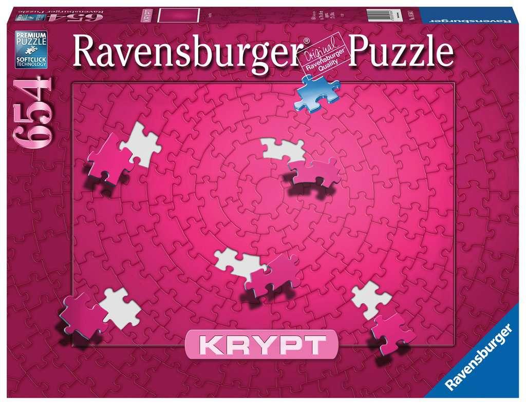 RAVENSBURGER  KRYPT PINK  654 PEZZI 16564