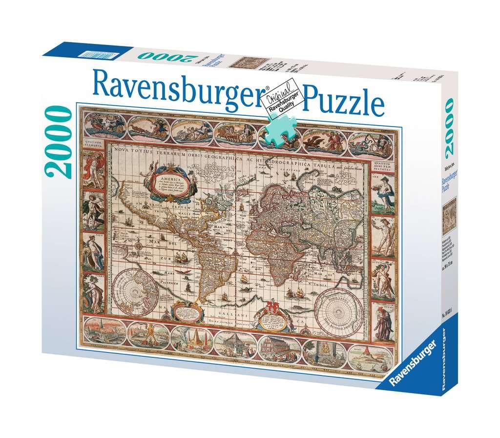 RAVENSBURGER  MAPPAMONDO 1650 16633