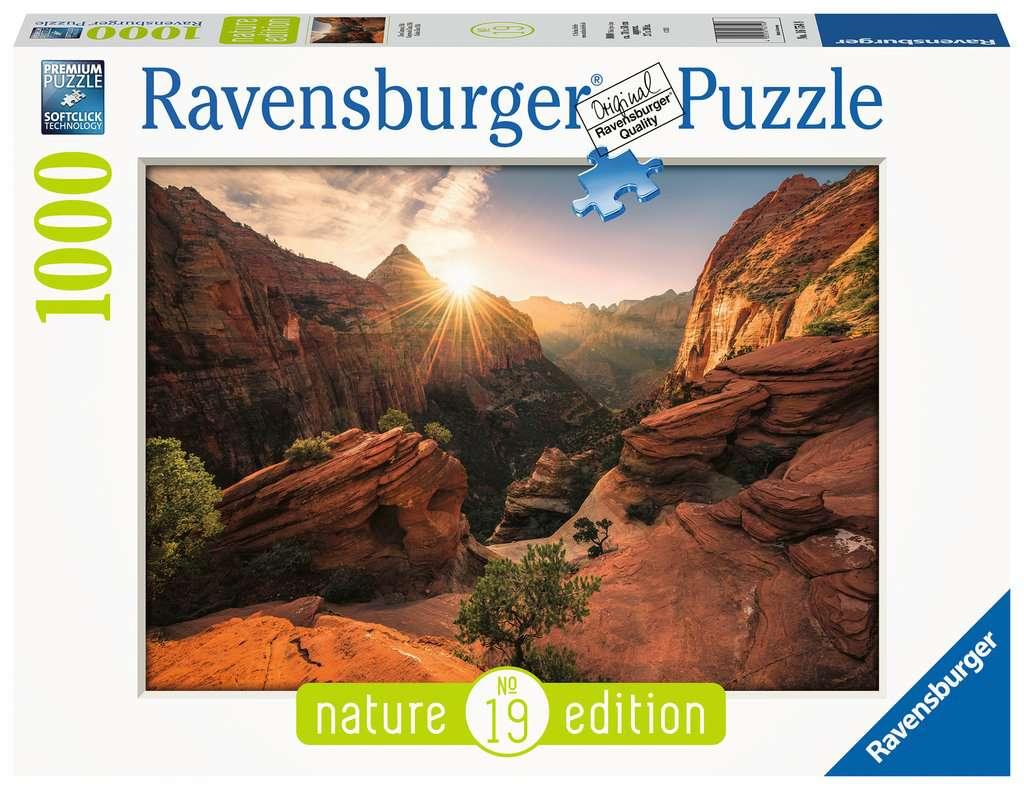RAVENSBURGER  ZION CANYON USA 16754