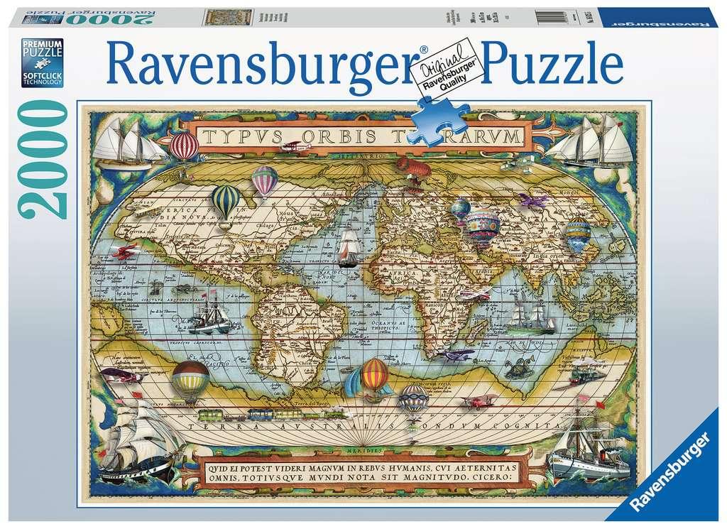 RAVENSBURGER  INTORNO AL MONDO 16825