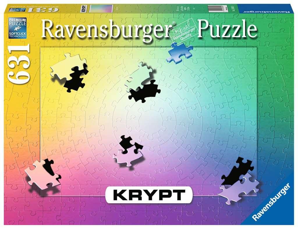 RAVENSBURGER  KRYPT GRADIENT 631 PEZZI 16885