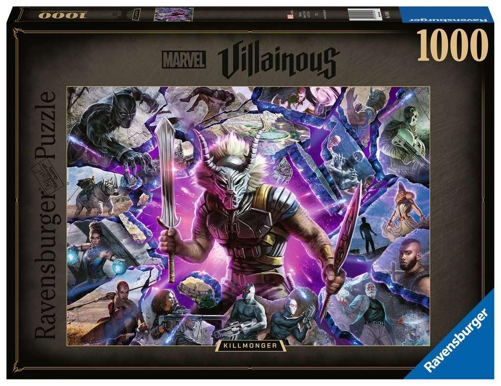 RAVENSBURGER  VILLAINOUS: KILLMONGER 16906