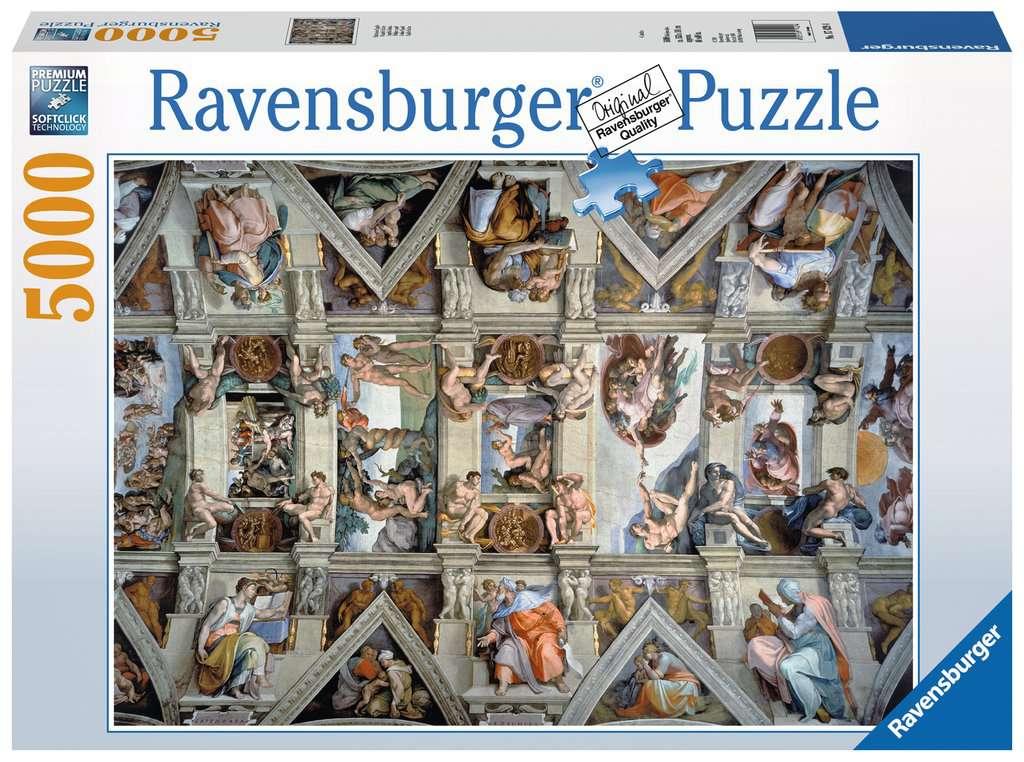 RAVENSBURGER  LA CAPPELLA SISTINA 17429