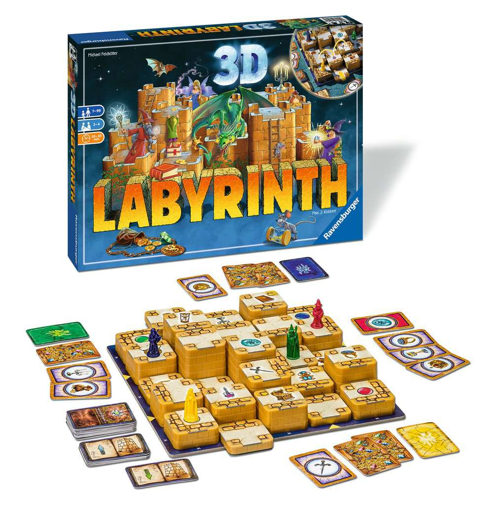 RAVENSBURGER LABYRINTH 3D 26113