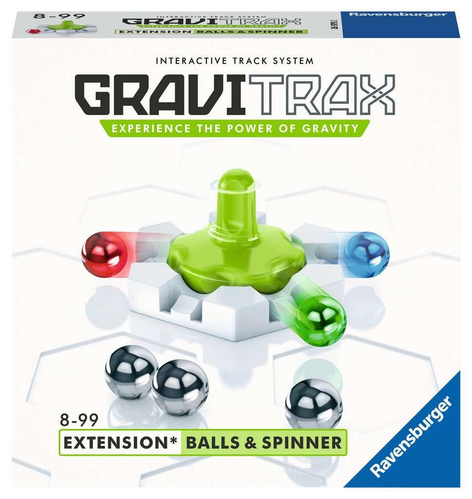 RAVENSBURGER  GRAVITRAX BALLS & SPINNER 26979