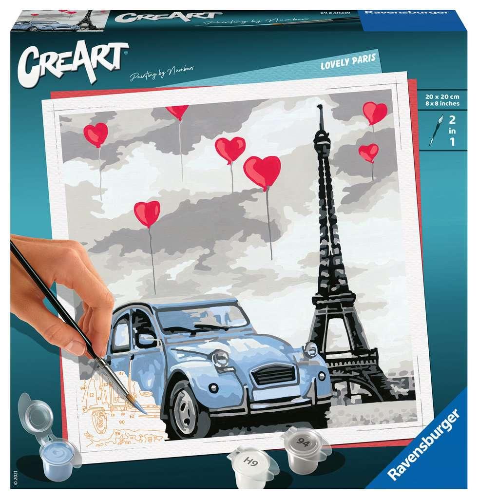 RAVENSBURGER  CREART SERIE - PARIGI 28996