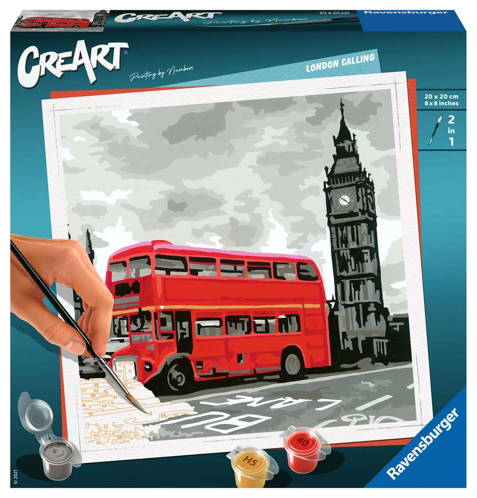 RAVENSBURGER  CREART SERIE - LONDRA 28997