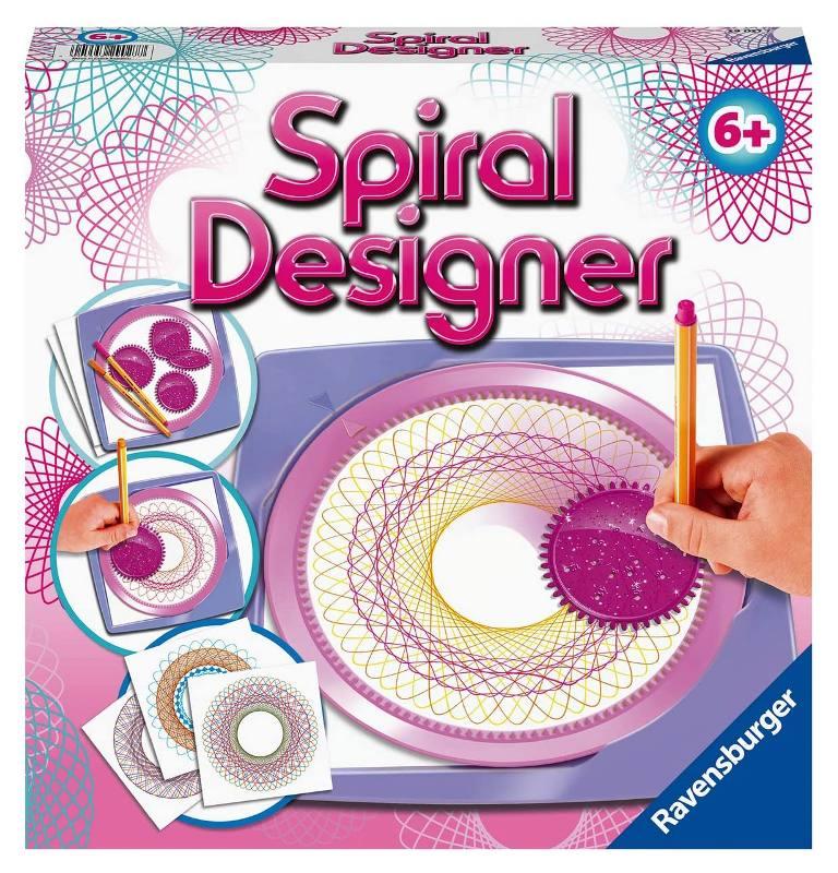 RAVENSBURGER  MIDI SPIRAL DESIGNER GIRLS 29027