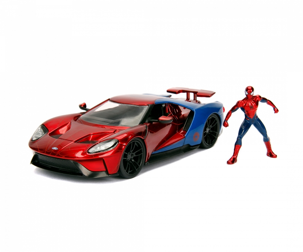 JADA MARVEL SPIDERMAN 2017 FORD GT + FIGURA 225002