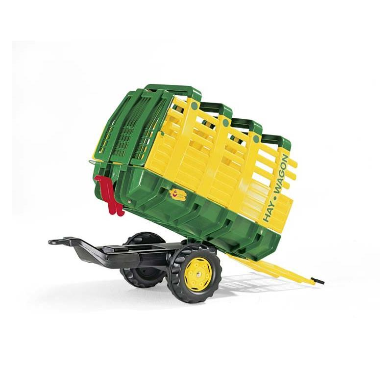 ROLLY TOYS ROLLYHAY CARICAFIENO VERDE CON ASSE 122981