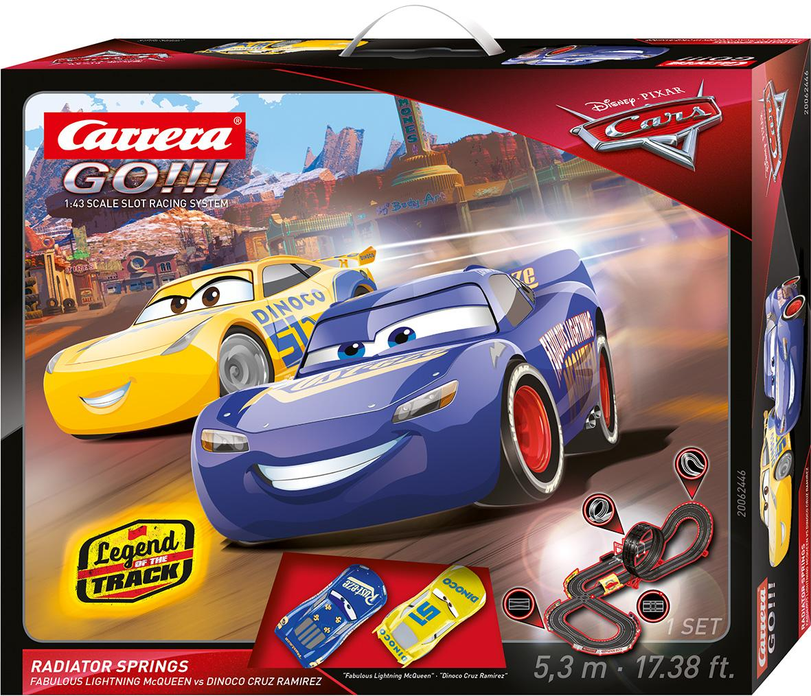 CARRERA GO!!! DISNEY PIXAR CARS RADIATOR SPRINGS COD. 20062446