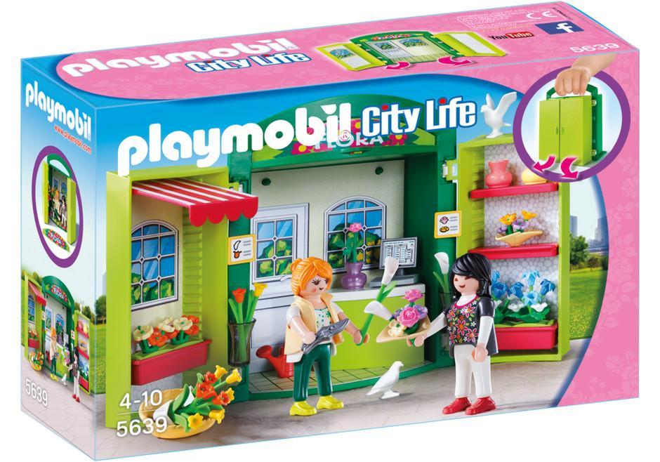 PLAYMOBIL BOX ''NEGOZIO DI FIORI''  5639