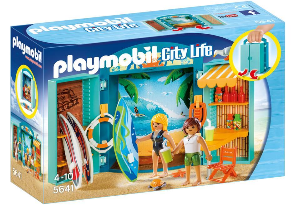 PLAYMOBIL BOX ''L'ANGOLO DEL SURF''  5641