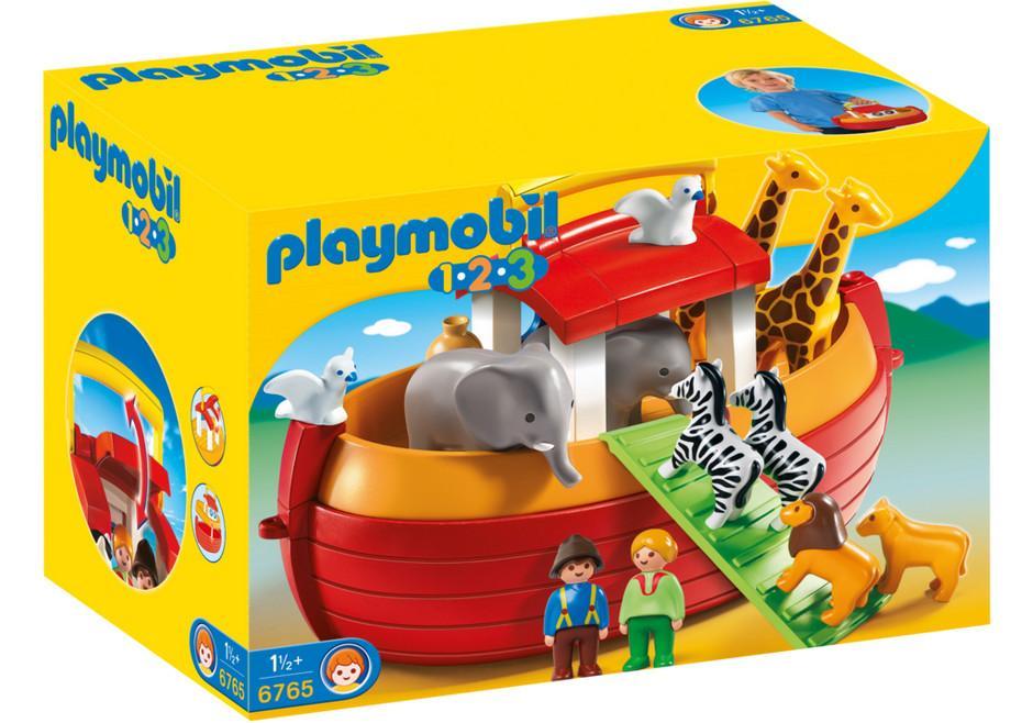 PLAYMOBIL 6765  ARCA DI NOE' PORTATILE 1.2.3