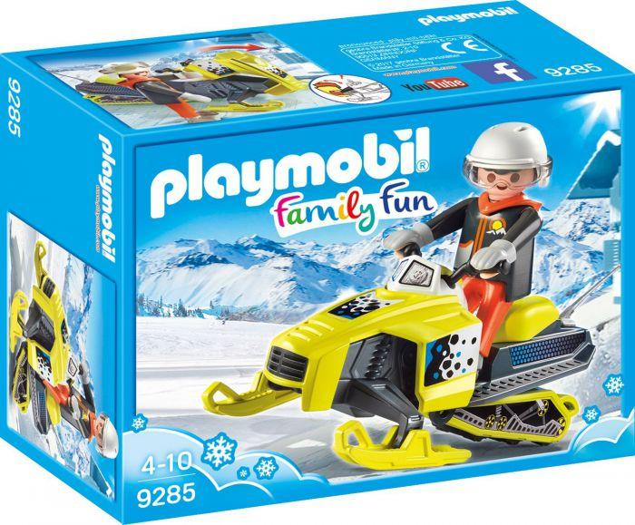PLAYMOBIL MOTOSLITTA 9285