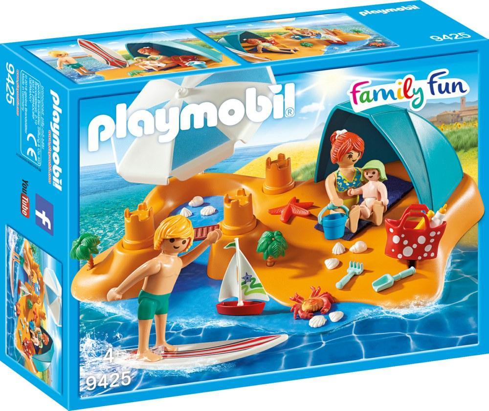 PLAYMOBIL FAMIGLIA IN SPIAGGIA 9425