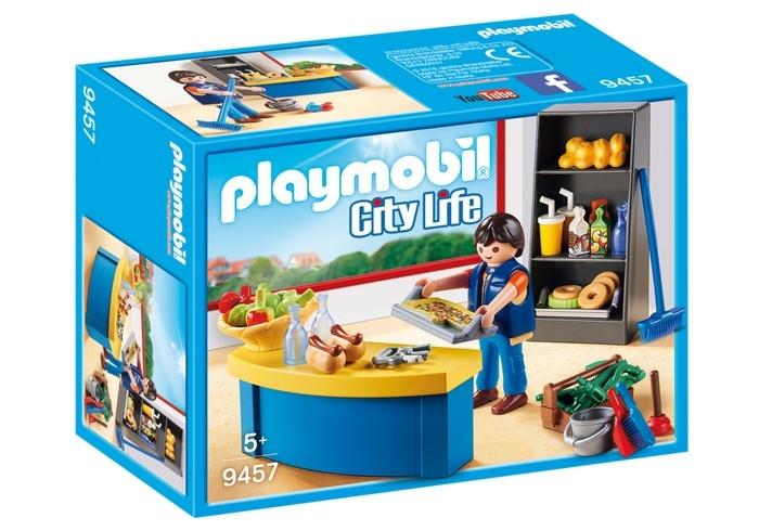 PLAYMOBIL CUSTODE CON CHIOSCO 9457