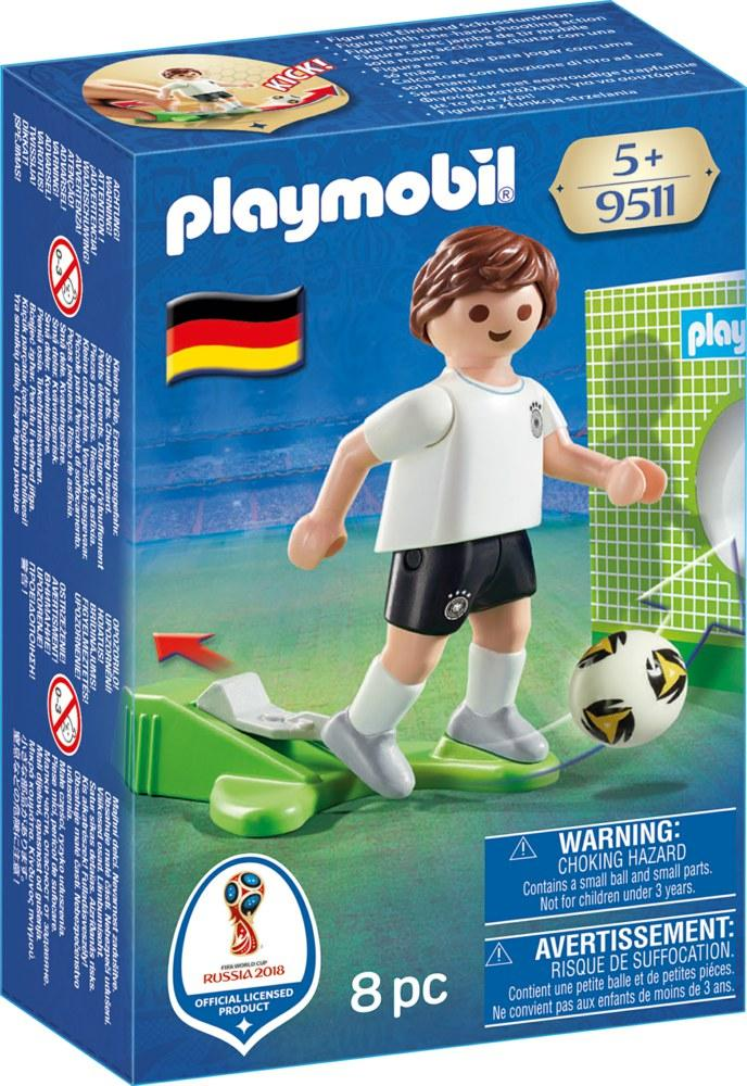 PLAYMOBIL GIOCATORE GERMANIA 9511