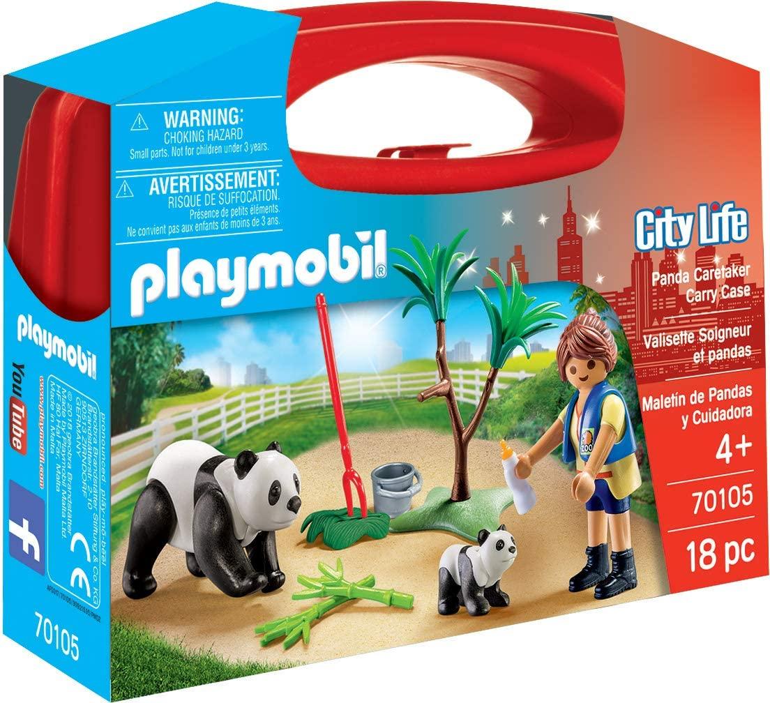 PLAYMOBIL CARRYING CASE PANDA 70105