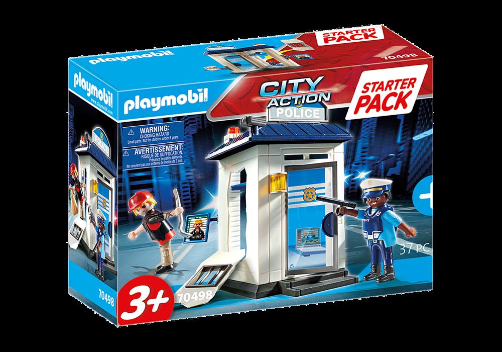 PLAYMOBIL  STARTER PACK POLIZIA 70498