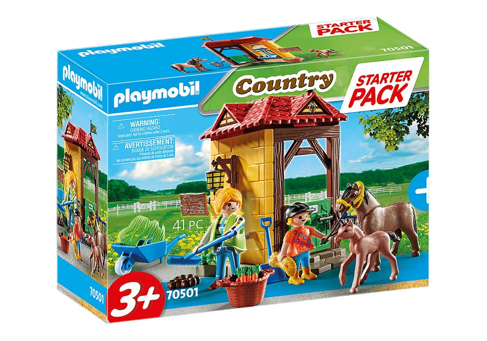 PLAYMOBIL STARTER PACK MANEGGIO 70501
