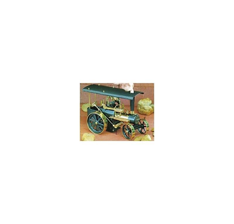 WILESCO KIT TRATTRICE A VAPORE NERO/OTTONE D 416