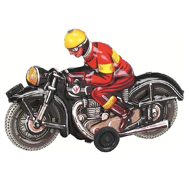 WILESCO MOTOCICLETTA NERA 10588