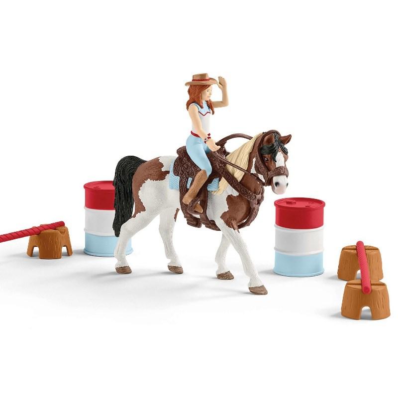 SCHLEICH  HORSE CLUB HANNA CIRCUITO EQUITAZIONE AMERICANA 42441