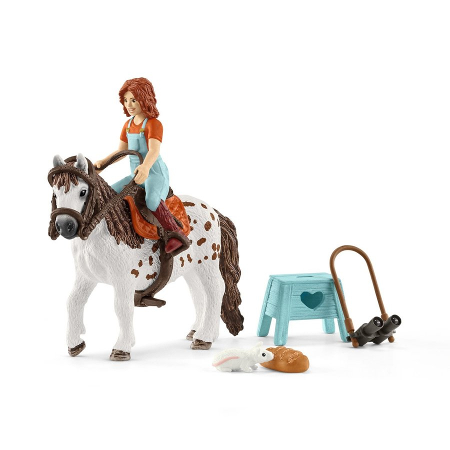 SCHLEICH HORSE CLUB MIA E SPOTTY 42518