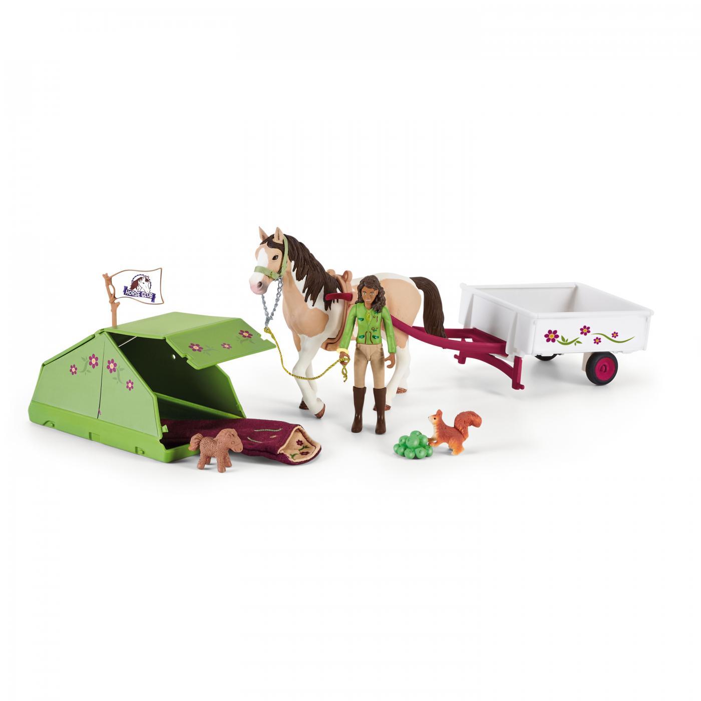 SCHLEICH HORSE CLUB IL CAMPEGGIO DI SARAH 42533