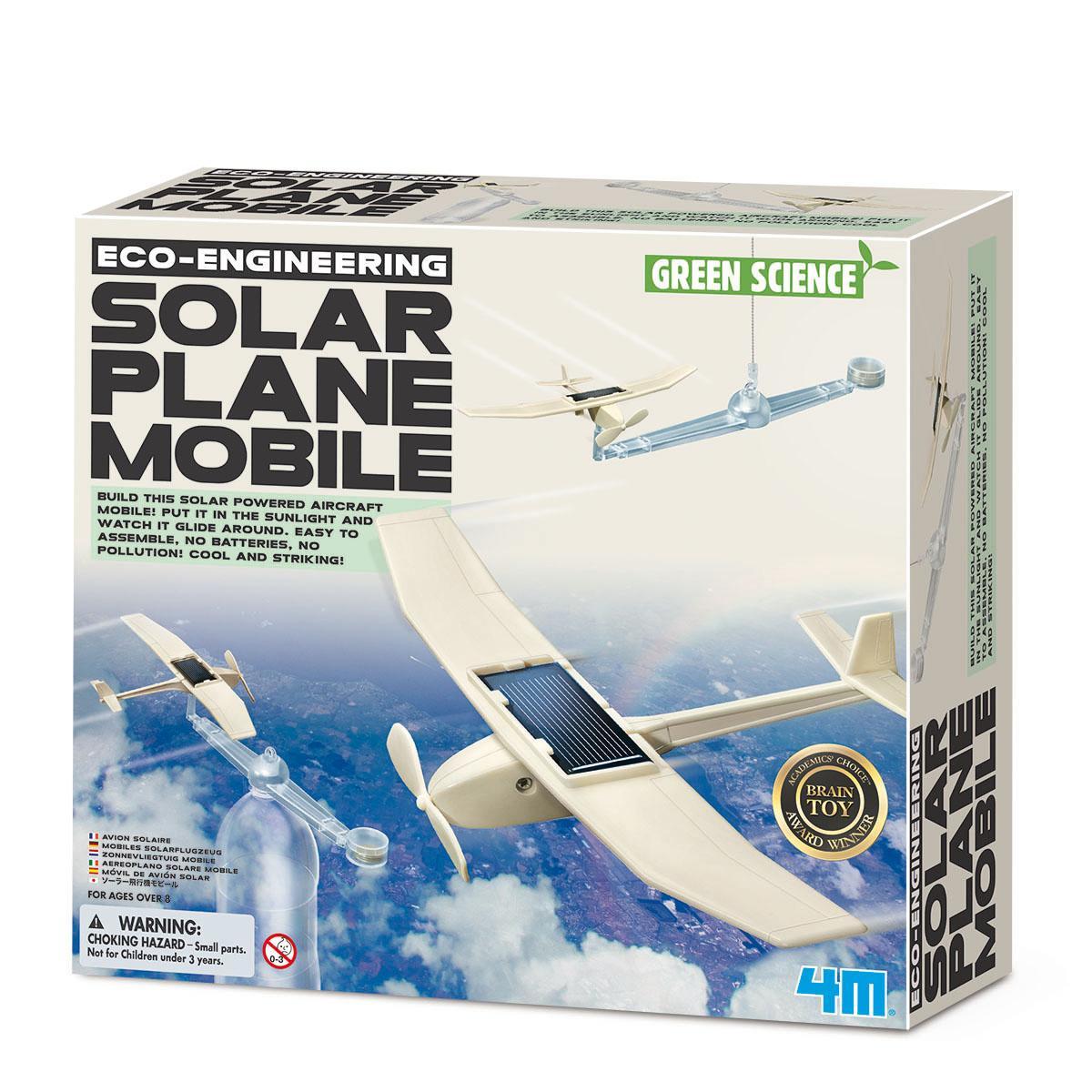 ECO EMGINEERING / SOLAR PLANE MOBILE  - GREEN SCIENCE