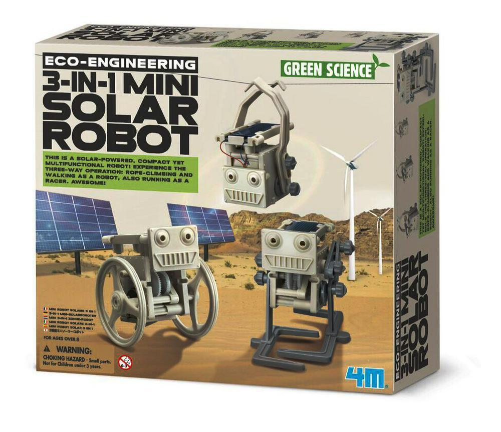 ECO EMGINEERING / 3-1 MINI SOLAR ROBOT  - GREEN SCIENCE