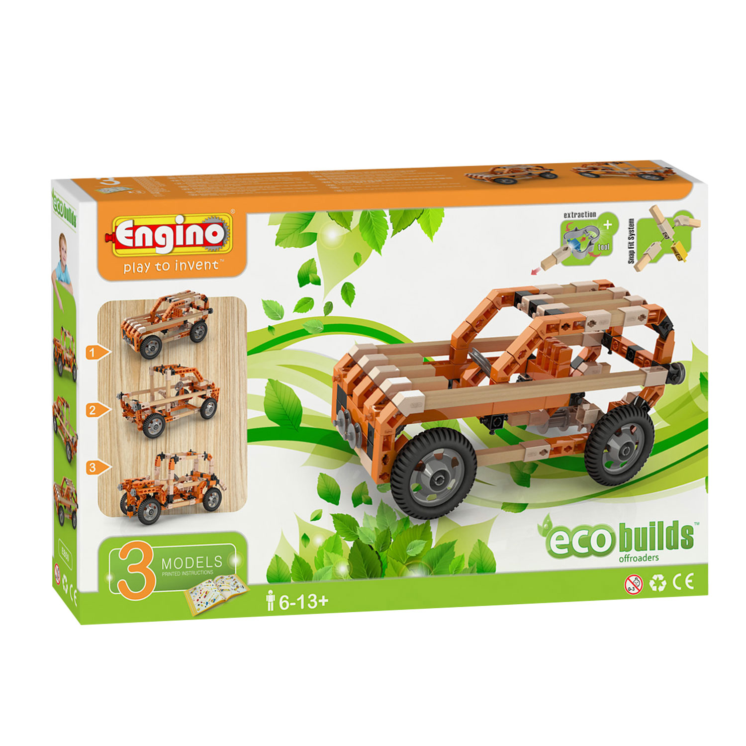 DAL NEGRO ENGINO ECO OFFROADERS 094174