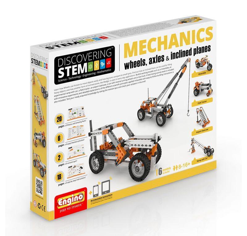 ENGINO STEM MECHANICS RUOTE, ASSALI E PIANI INCLINATI 094382