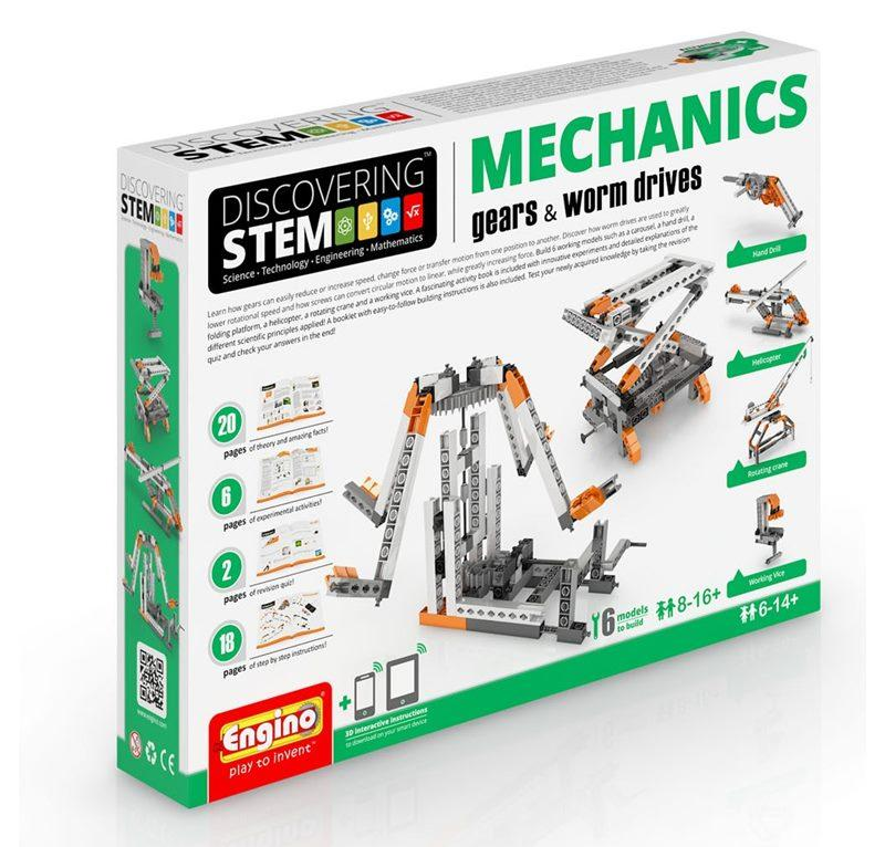 ENGINO STEM MECHANICS GEARS E WORM DRIVES 094177