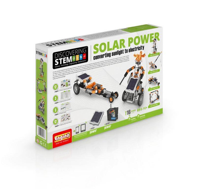 ENGINO STEM SOLAR POWER 094179