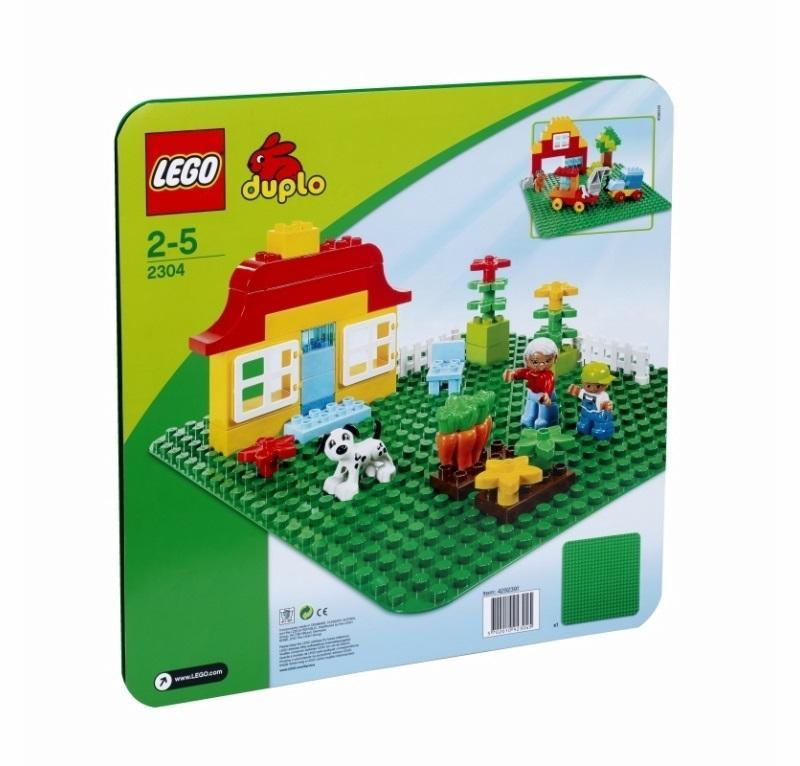 LEGO DUPLO CREATIVE PLAY BASE VERDE 2304