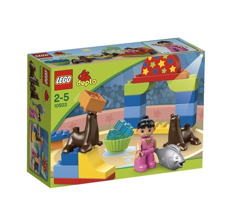 LEGO DUPLO VILLE EDIFICI SPETTACOLO AL CIRCO 10503