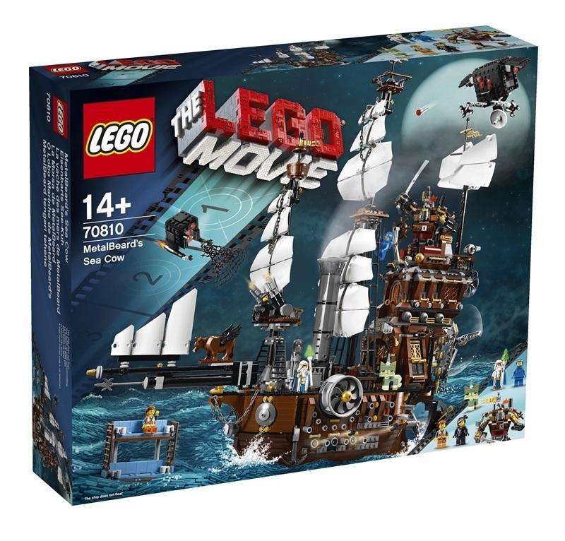 LEGO MOVIE IL GALEONE DI BARBACCIAIO 70810