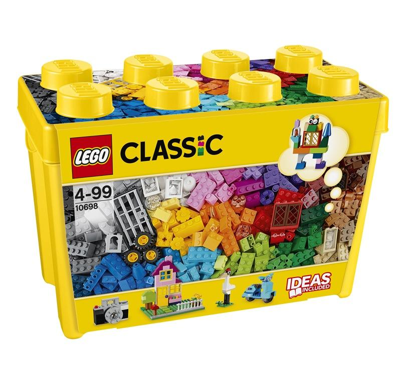 LEGO CLASSIC SCATOLA MATTONCINI CREATIVI GRANDE 10698
