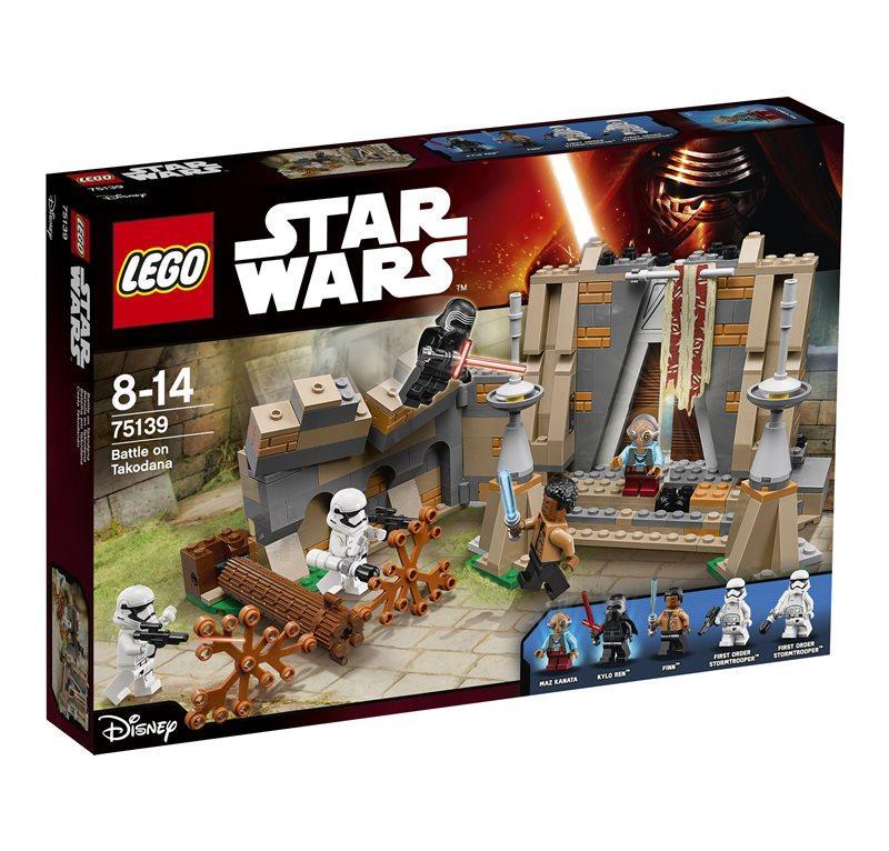 LEGO STAR WARS BATTAGLIA A TAKODANA 75139