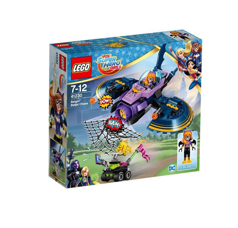 LEGO SUPER HERO GIRLS L'INSEGUIMENTO SUL BAT-JET DI BAT-GIRL 41230