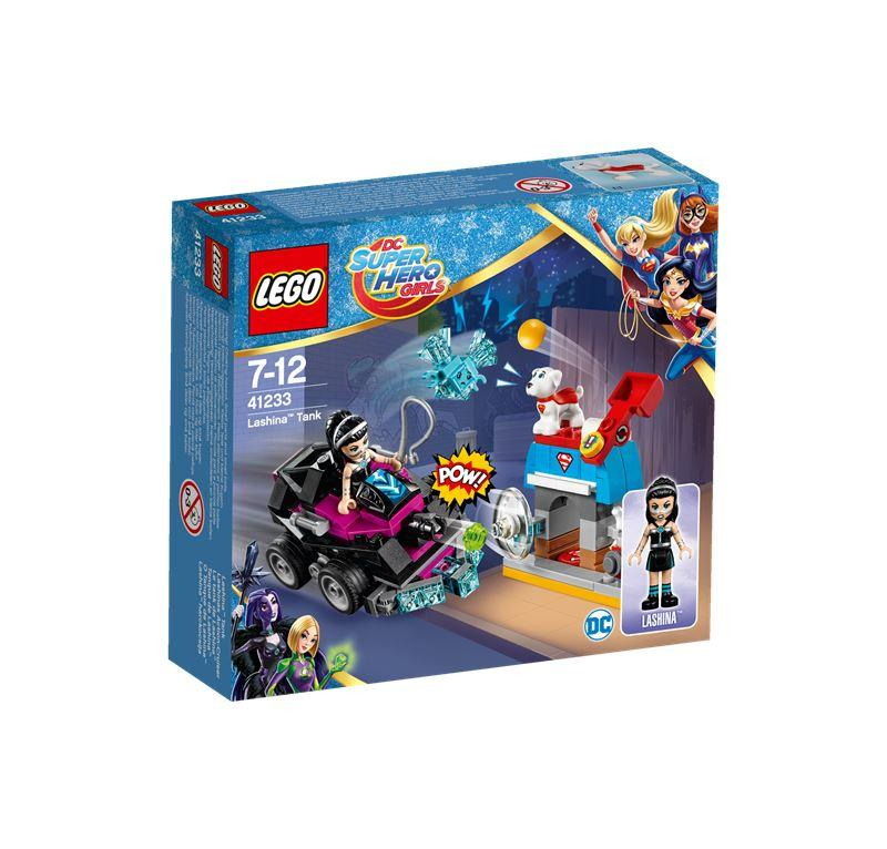 LEGO SUPER HERO GIRLS IL CARRO ARMATO DI LASHINA 41233