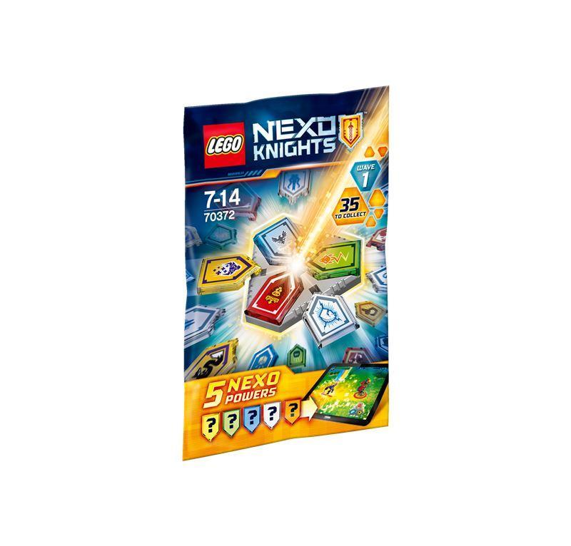 LEGO NEXO KNIGHTS COMBO NEXO POWERS WAVE 70372
