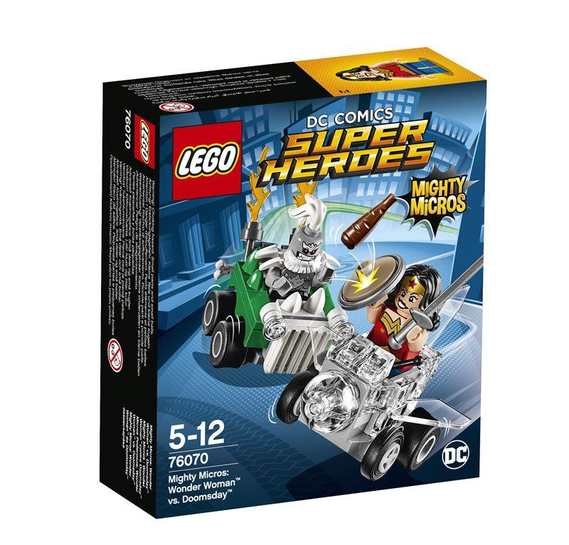 LEGO SUPER HEROES MIGHTY MICROS: WONDER WOMAN CONTRO DOOMSDA 76070